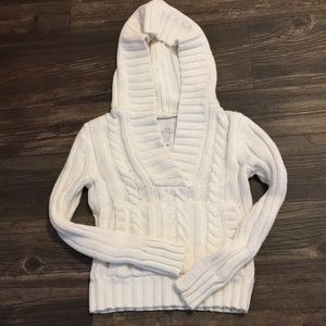 OLD NAVY HOODED SWEATER. SIZE Small